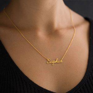 Customizable Necklaces, Customizable Name Necklace